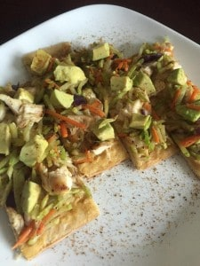 Chicken and Avocado Flatout