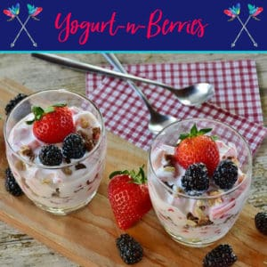Yogurt-n-Berries Dessert