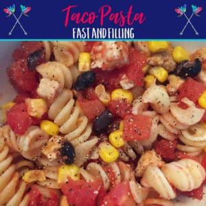 Taco Chicken Pasta