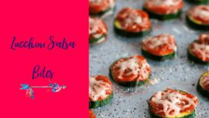 Zucchini Salsa Bites
